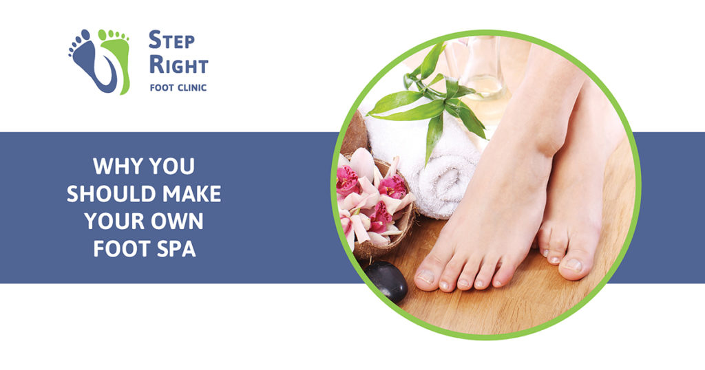 Foot spa recipe